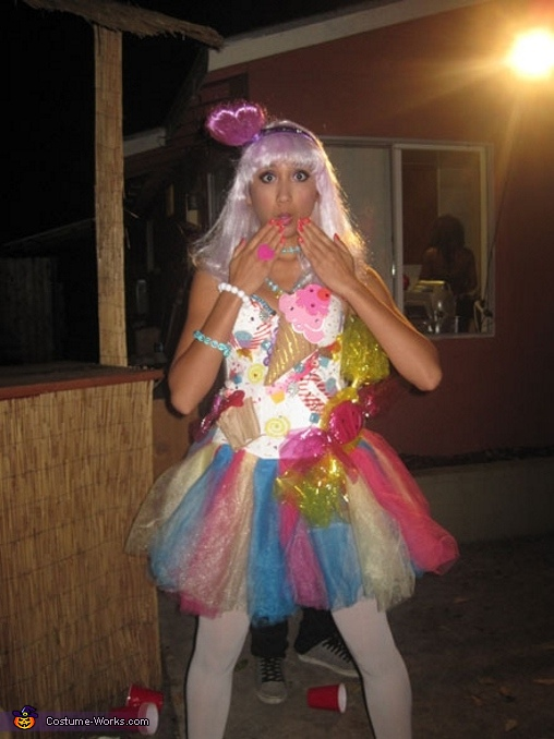 Katy Perry from California Gurls  Costume