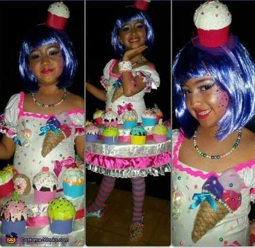 Katy Perry Candy Dress Costume