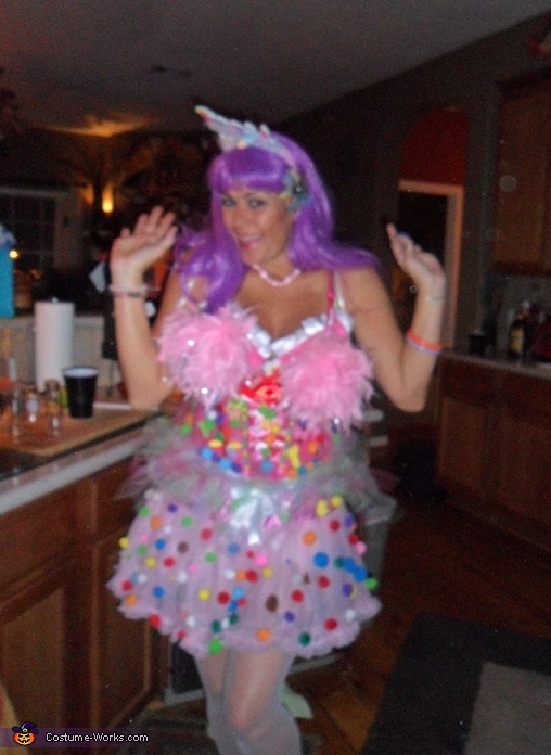 Homemade Katy Perry Costume