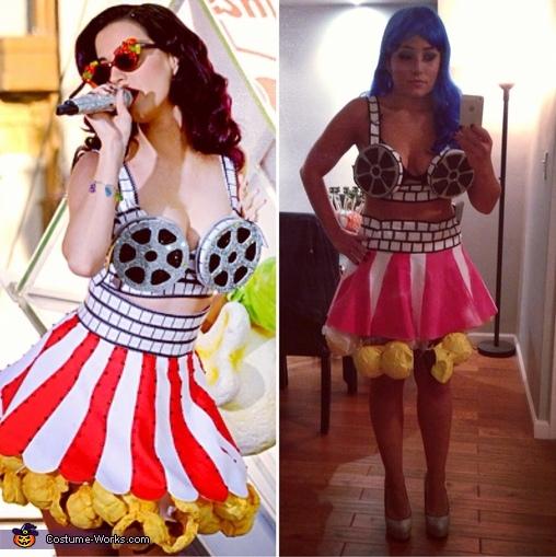 I'm on the right (in case you can't tell who's who)!, Katy Perry Costume