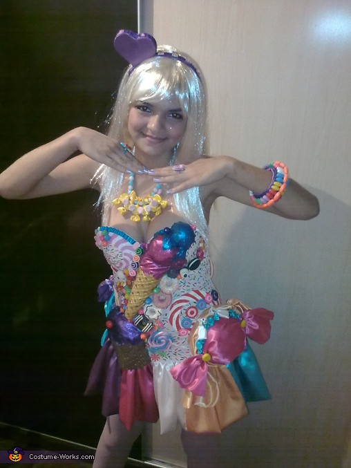 DIY Katy Perry California Gurls Costume