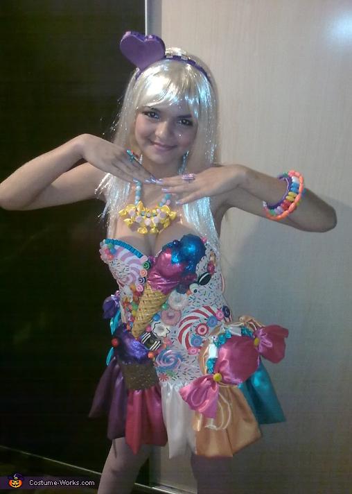 DIY Katy Perry California Gurls Costume