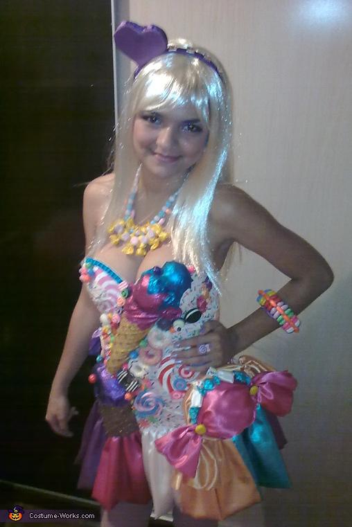 Katy Perry Homemade Costume