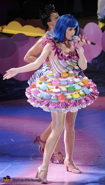 The inspiration, Katy Perry Cupcake Dress Costume