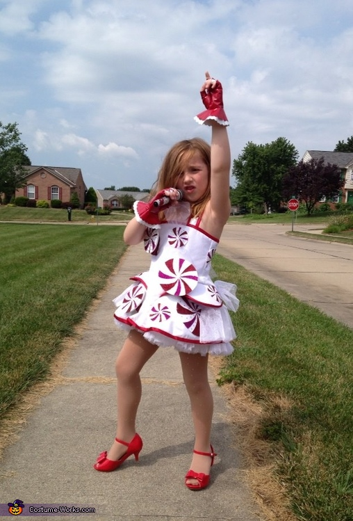 Katy Perry Inspired Peppermint Dress Costume