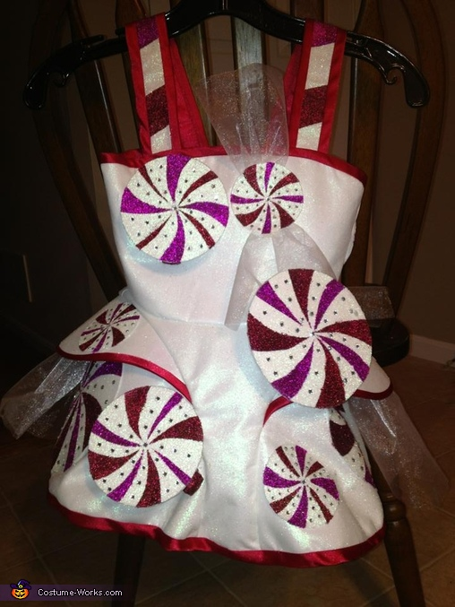 Katy Perry Inspired Peppermint Dress Homemade Costume
