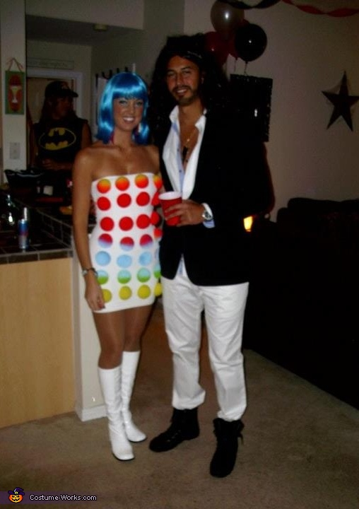 Katy Perry & Russell Brand - Homemade costumes for couples