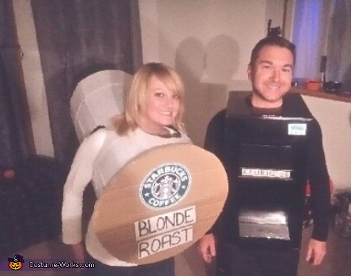 Kcup and Keurig Costume