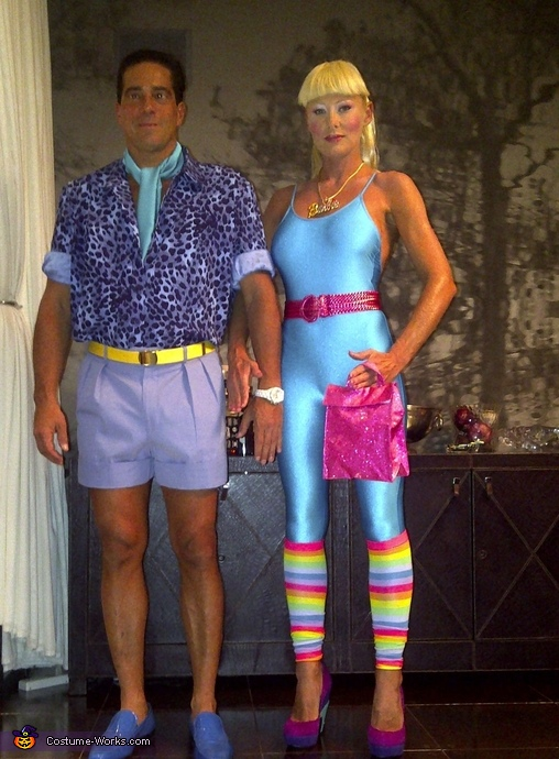 Ken and Barbie from Toy Story 3 - Homemade costumes for couples