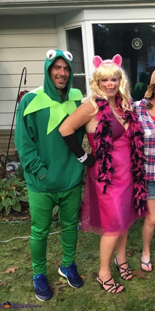 Kermit and Miss Piggie Costume