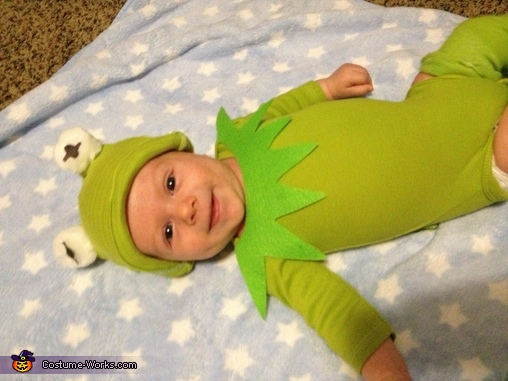 The smile, Kermit the Frog Baby Costume