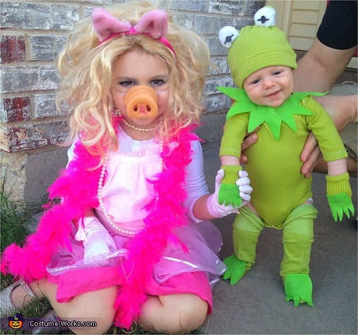 Kermit & Miss Piggy, Kermit the Frog Baby Costume