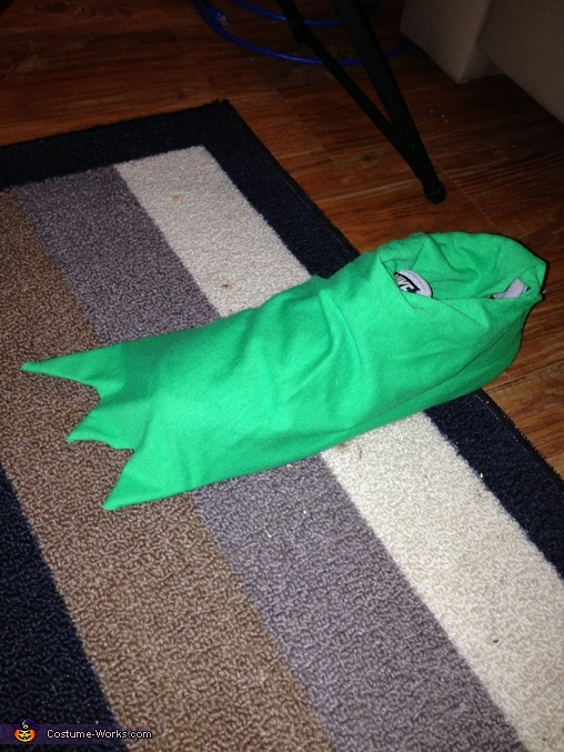Kermit the Frog Homemade Costume