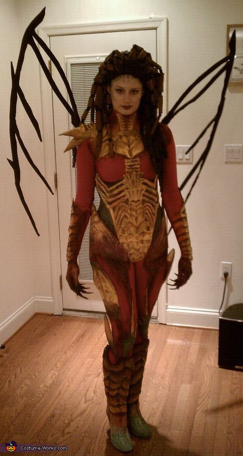 Kerrigan, Queen of Blades - Homemade costumes for women