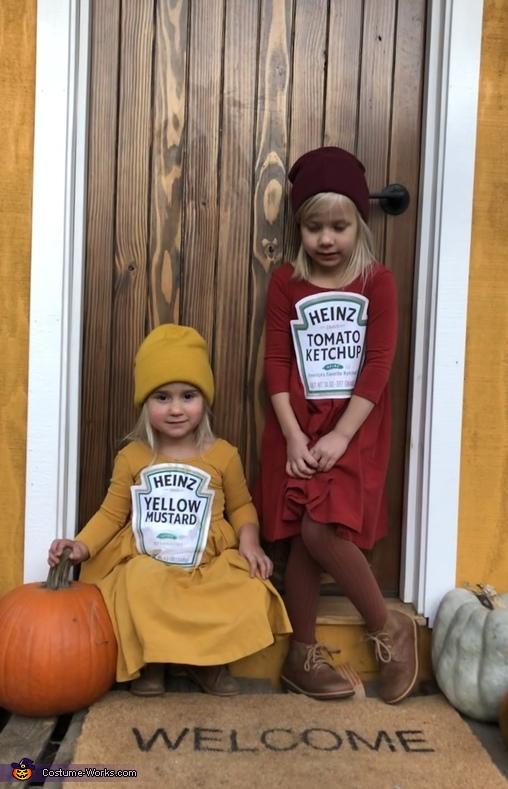 Ketchup and Mustard Costume
