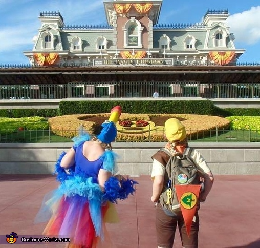 The Wilderness Exploreres Take on Disney World!, Kevin and Russell Costume