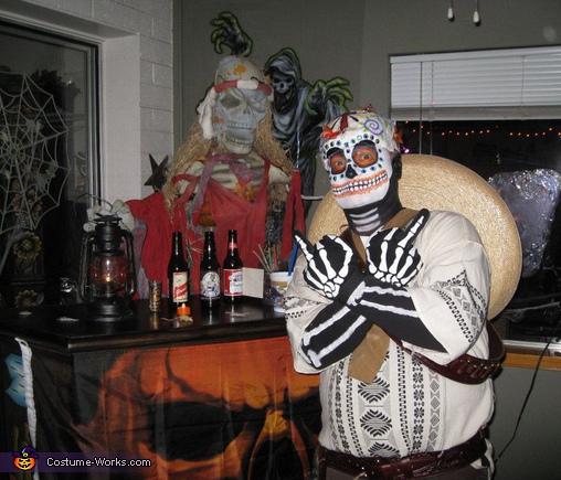 Kevin Dia De Los Muertos, Dia De Los Muertos Couple Costume