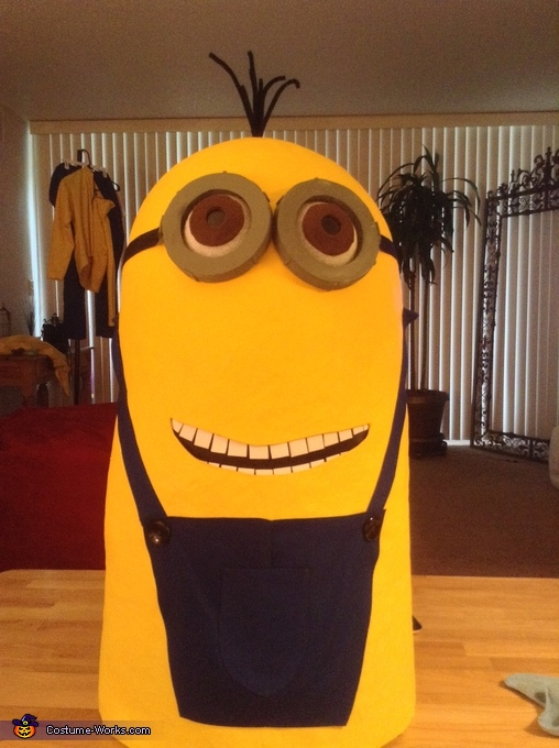 Kevin the Minion starting to form, Kevin the Minion Costume