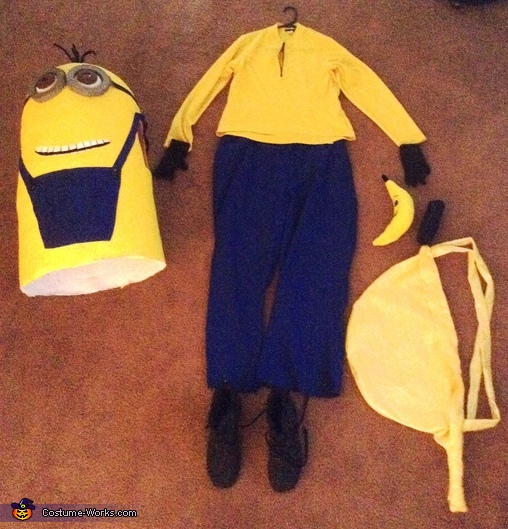 All items used for Kevin the Minion, Kevin the Minion Costume