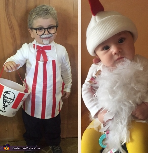 KFC and Chicken Homemade Costume