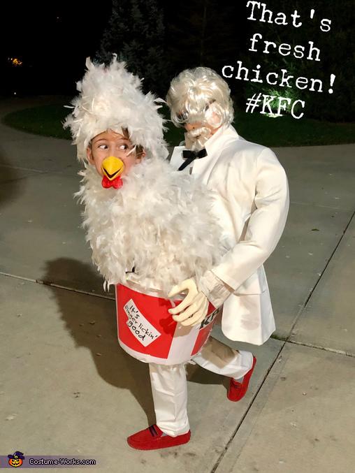 Fresh chicken, KFC Chicken Costume