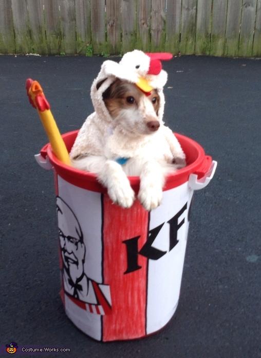KFC Chicken Bucket Costume