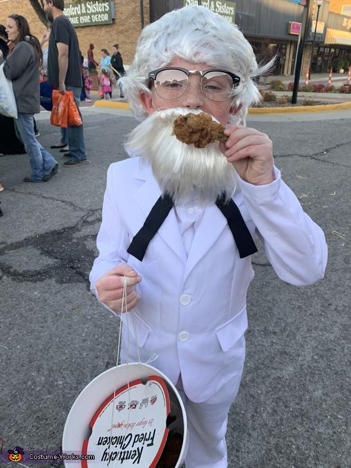 KFC Colonel Sanders Homemade Costume