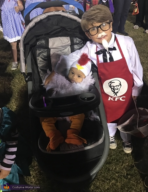KFC Colonel Sanders and Chicken Costume