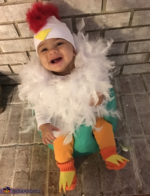 KFC Colonel Sanders and Chicken Homemade Costume