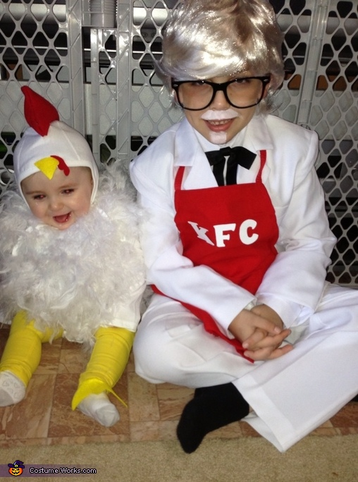 KFC Colonel Sanders and Chicken Costumes