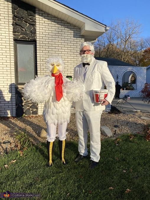 KFC Family Homemade Costume