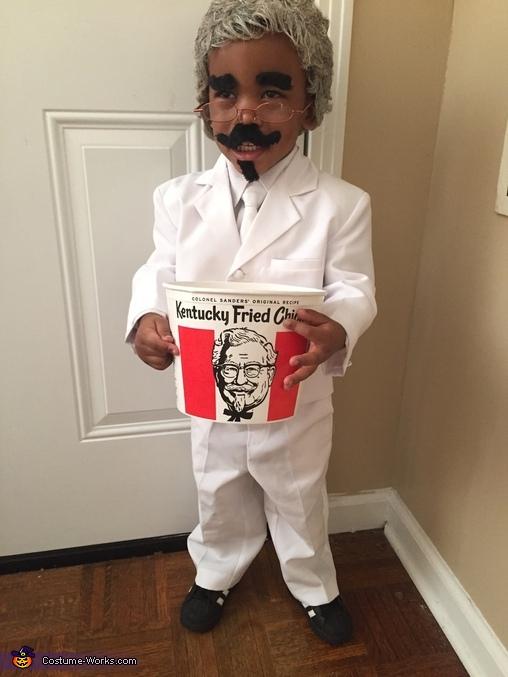 KFC Kids Homemade Costume