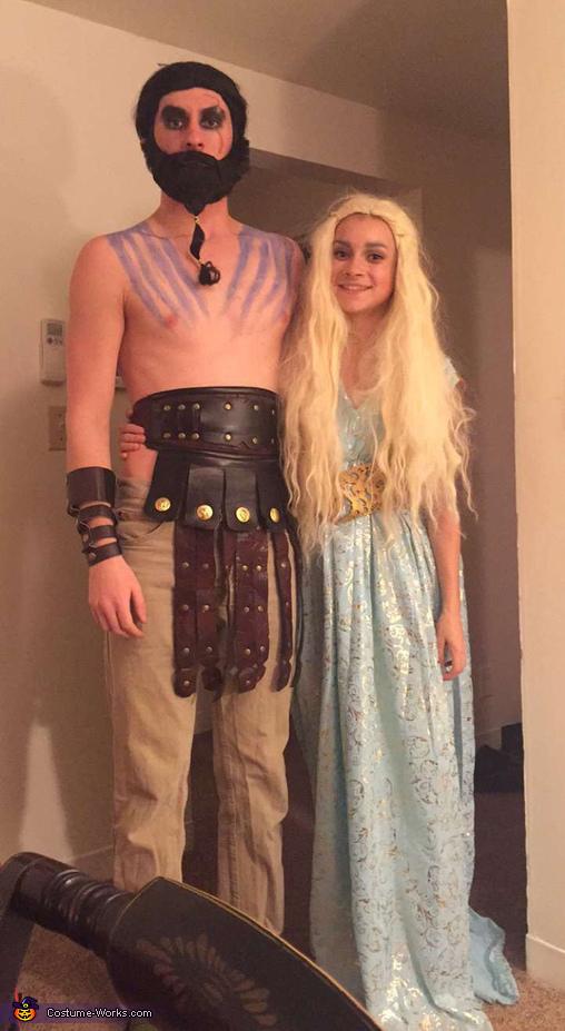 Khal Drogo and Daenery...