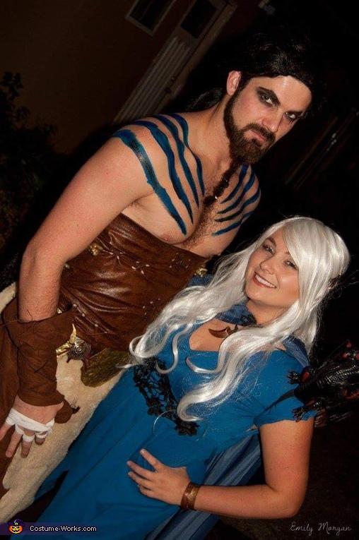 Khal Drogo and Khaleesi Costume