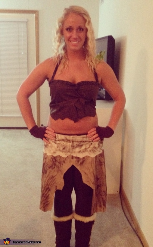 Unique Homemade Costume Ideas For Women Homemade Khaleesi Cost...