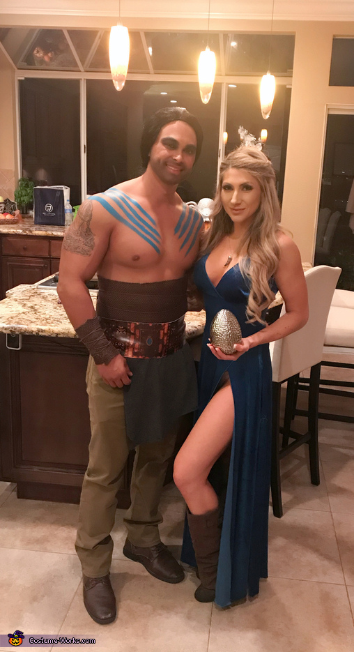 Khaleesi and Khal Drogo Costume