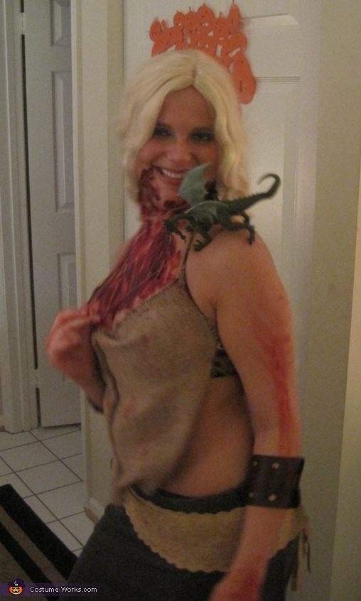 Khaleesi Daenerys in Game of Thrones - Homemade costumes for women
