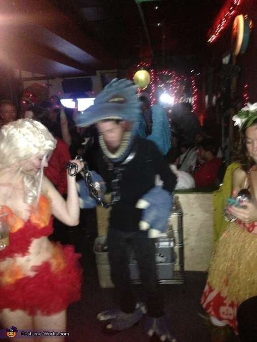 Out dancing, Khaleesi Dragon Costume