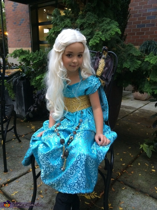 Khaleesi, Mother of Dragons Homemade Costume