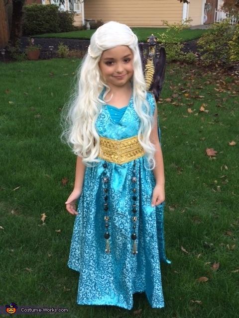 Khaleesi, Mother of Dragons Homemade Costume