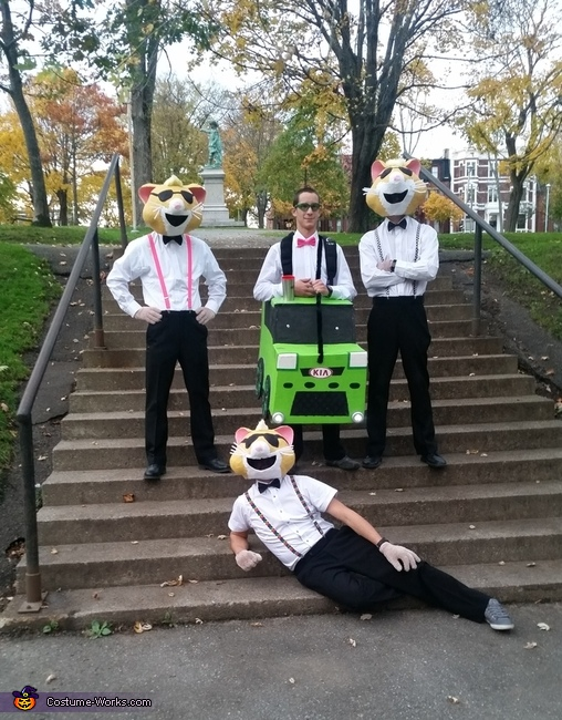 Kia Soul Hamsters Costume