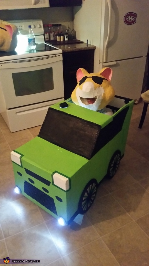 driving, Kia Soul Hamsters Costume