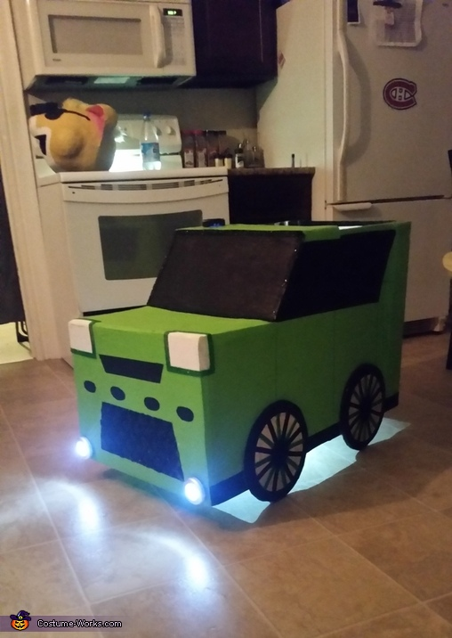 car, Kia Soul Hamsters Costume