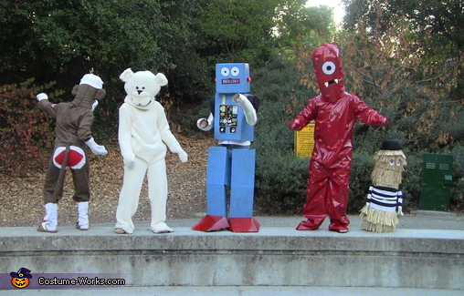 Kia Super Bowl Characters Costume