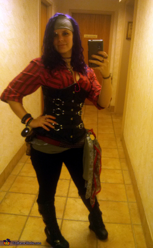 Kick-ass Pirate Costume