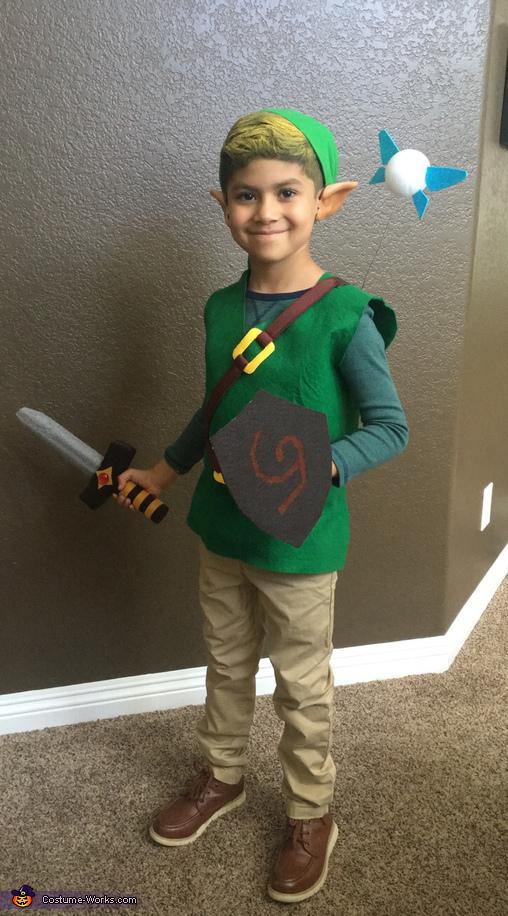 The Legend of Zelda Link Costume  sc 1 st  Costume Works & Kid Link from the Legend of Zelda Costume