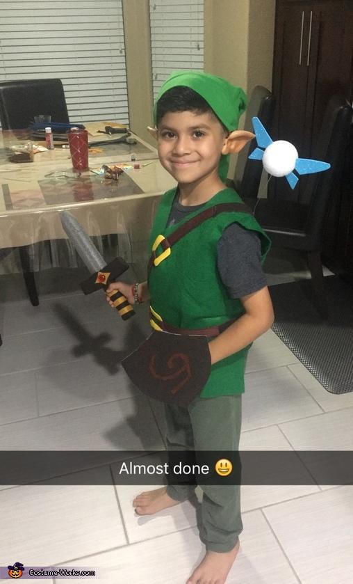 kid link from the legend of zelda the legend of zelda link costume