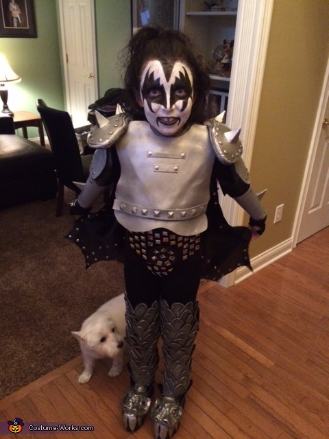 Kiddo Kiss Costume