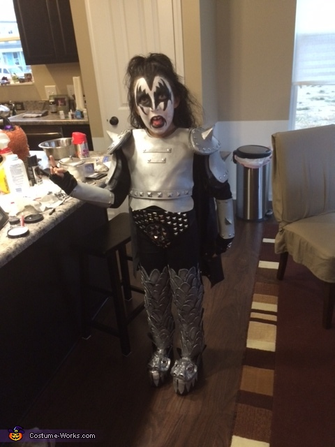 kiddo rock star, Kiddo Kiss Costume