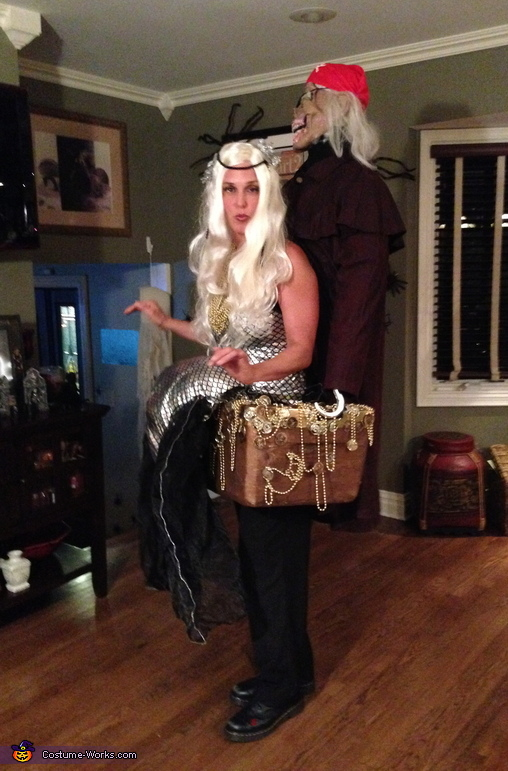 Kidnapped Mermaid Costume